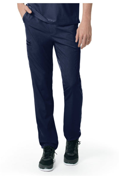Carhartt Liberty Mens Scrub Pants Slim Fit Straight Leg C55106 in Navy at Parker's Clothing and Shoes