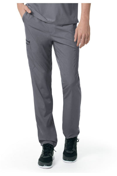 Carhartt Liberty Mens Scrub Pants Slim Fit Straight Leg C55106 in Pewter at Parker's Clothing and Shoes
