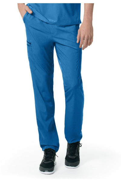 Carhartt Liberty Mens Scrub Pants Slim Fit Straight Leg C55106 in Royal at Parker's Clothing and Shoes