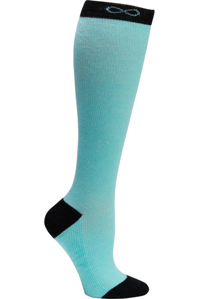 Cherokee Moderate Compression Socks Infinity Kickstart 15-20 mmHg Aruba Blue at Parker's Clothing and Shoes.