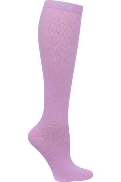 Cherokee Moderate Compression Socks Infinity Kickstart 15-20 mmHg Pastel Peony at Parker's Clothing and Shoes.