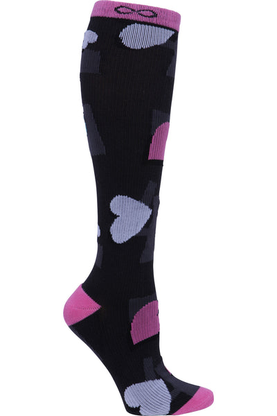 Cherokee Moderate Compression Socks Infinity Kickstart 15-20 mmHg A Swirl In Love at Parker's Clothing and Shoes.