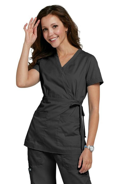 Koi Scrub Top Katelyn in Black At Parker's Clothing and Shoes