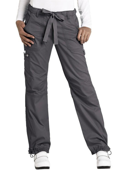 Koi Lindsey Scrub Pant Steel At Parker's Clothing and Shoes