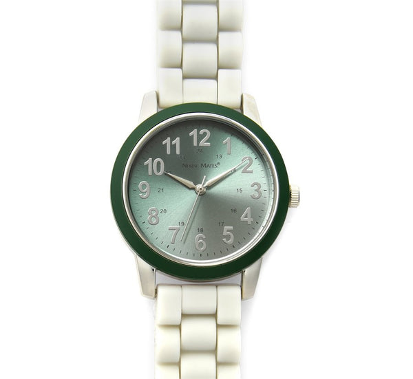 Nurse Mates Watch Analog With Second Hand Hunter Grey Ombre