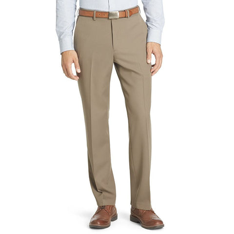 Van Heusen No-Iron Flat-Front Traveler Dress Pants - Parker's Clothing & Gifts