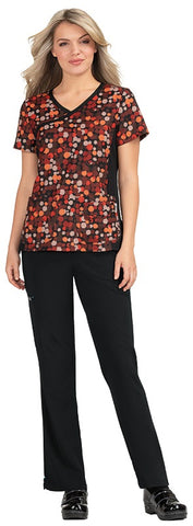 Koi Raquel Color Splash Print Tops