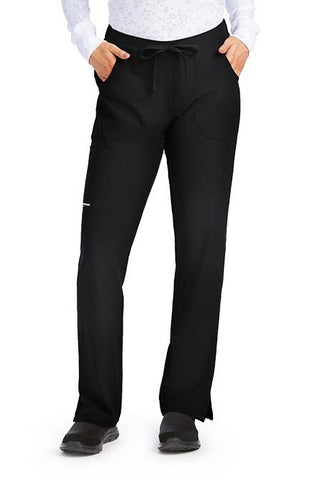 Skechers by Barco Scrub Pants Reliance Drawstring Cargo in Black at Parker's Clothing and Shoes