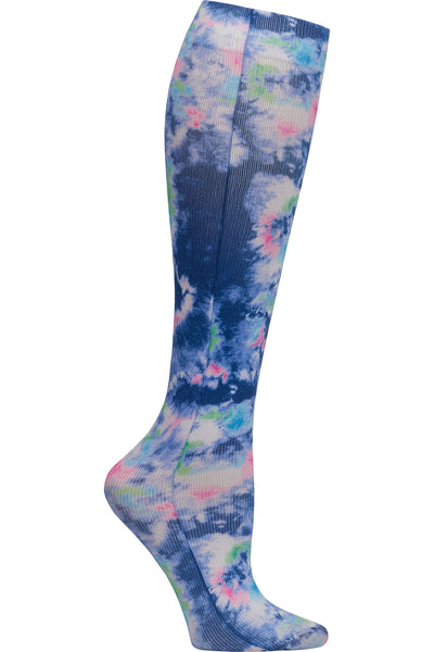Celeste Stein Mild Compression Socks 8-15 mmHG Bright Tie Dye at Parker's Clothing and Shoes.