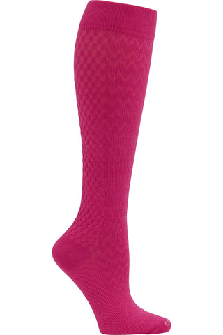 Cherokee Plus Size Mild Compression Wide Calf Socks True Support 10-15 mmHg in Brilliant at Parker's Clothing and Shoes.