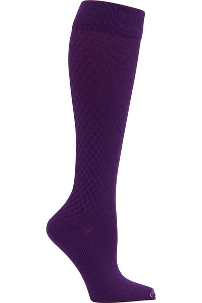 Cherokee Plus Size Mild Compression Wide Calf Socks True Support 10-15 mmHg in Wisteria at Parker's Clothing and Shoes.