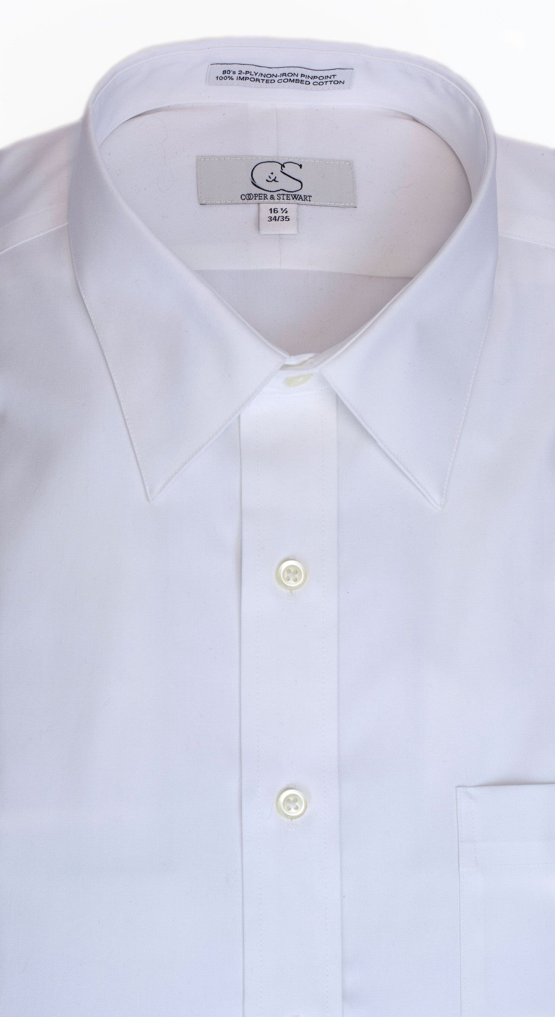 Cooper & Stewart Non Iron Dress Shirt - Parker's Clothing & Gifts