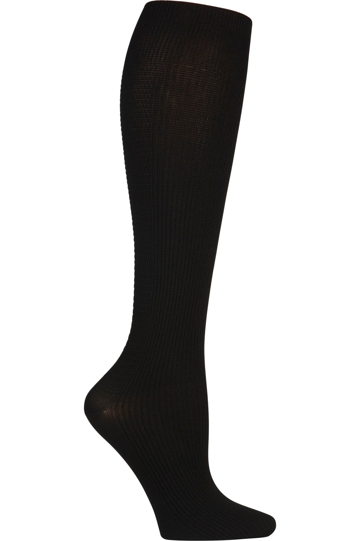 Cherokee Mild Compression Support Socks 8-12 mmHg in Black at Parker's Clothing and Shoes.