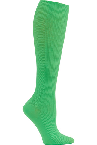 Cherokee Mild Compression Support Socks 8-12 mmHg in Glitzy Green at Parker's Clothing and Shoes.