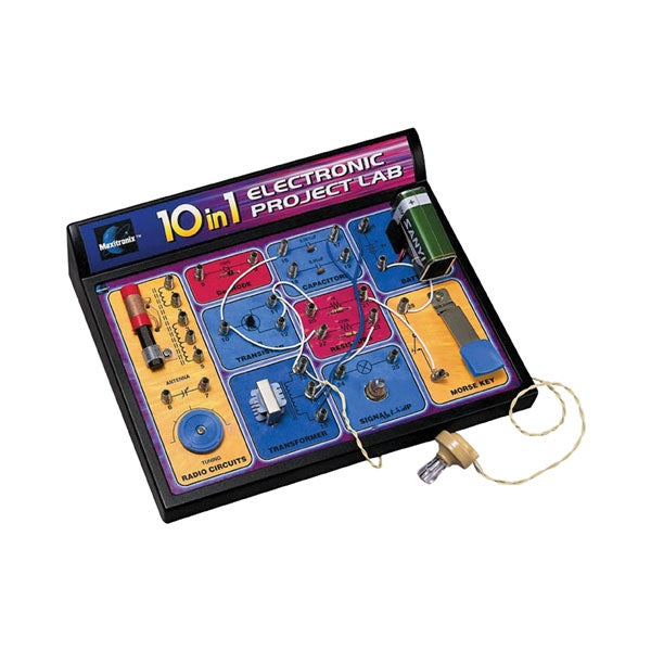 10-in-1 Electronic Lab Kit