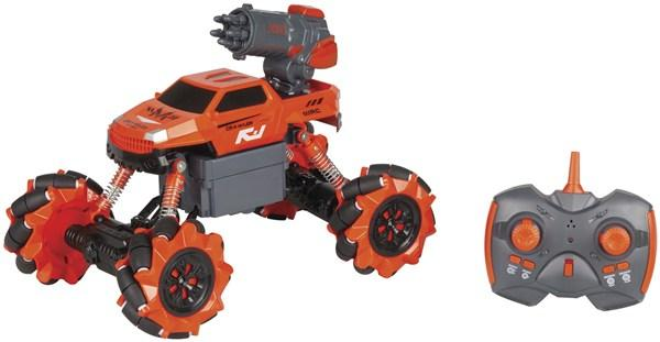 2-In-1 Rock Crawler with Water and Rocket Launcher