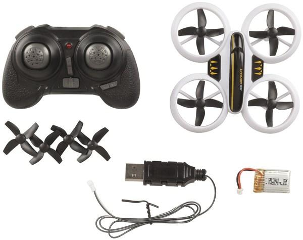 Mini R/C Quadcopter with LEDs