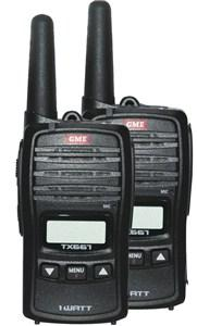 GME 1W UHF Radio TX667TP Twin Pack