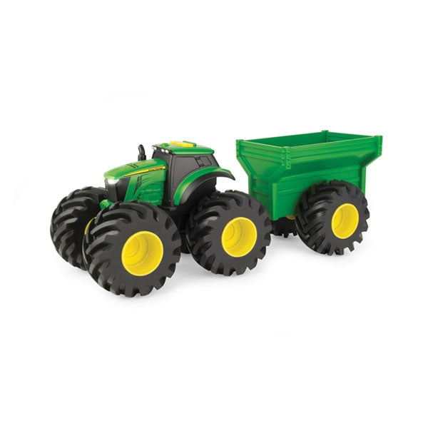 20cm Monster Treads Tractor with Wagon