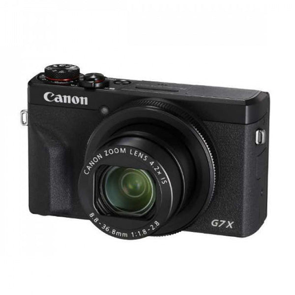 Canon G7XIIIBK Digital Compact Camera Black