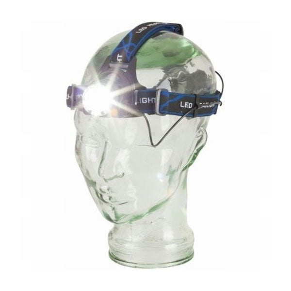TECHLIGHT 550 Lumen Rechargeable Head torch with adjustable beam