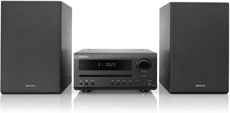 DENON D-T1 HI-FI MINI SYSTEM WITH FM/AM, CD AND BLUETOOTH®