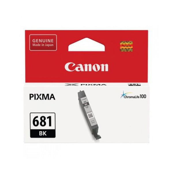Canon CLI681 Black Ink Cartridge - 1,500 pages