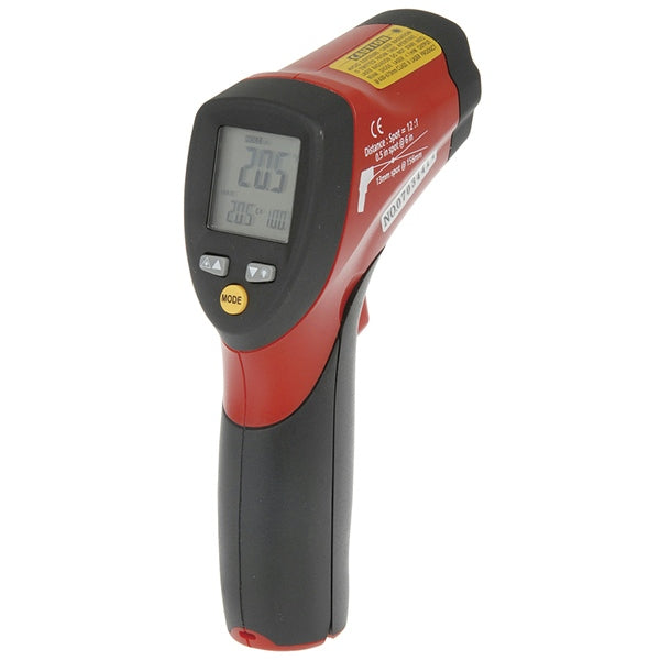 DIGITECH Non-Contact Thermometer with Dual Laser Targeting