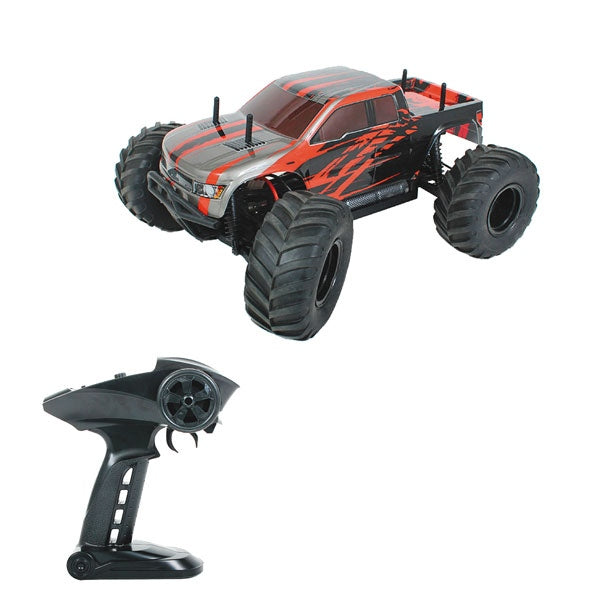 HBX 1:10th Scale Volcano 2WD RC Monster Truck