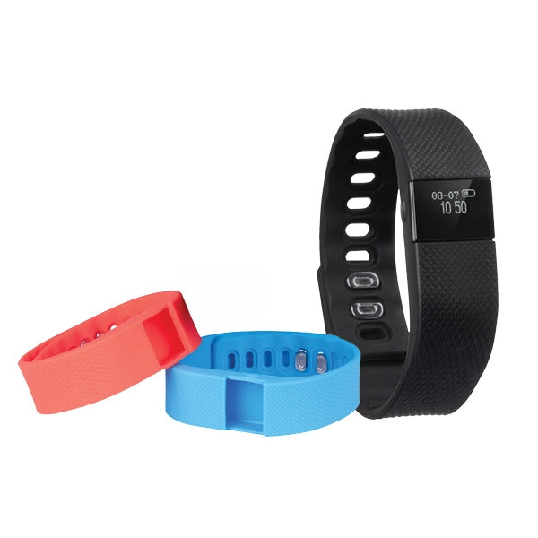 LASER NAV-ACTMK18 Fitness Activity Monitor with 3 Wristbands