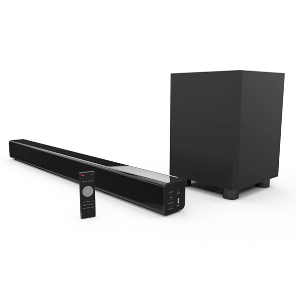 LASER Soundbar with Wireless Subwoofer