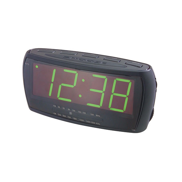 LENOXX Jumbo Display FM Clock Radio