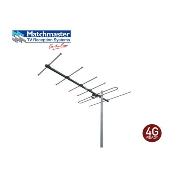 MATCHMASTER Digital TV VHF Antenna with 4G Filter