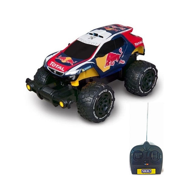 NIKKO 1:18 Scale Red Bull Baja RC Truck