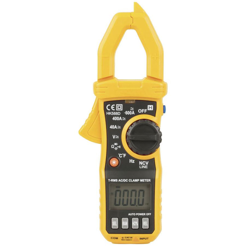 Clamp Meter 600A True RMS AC/DC