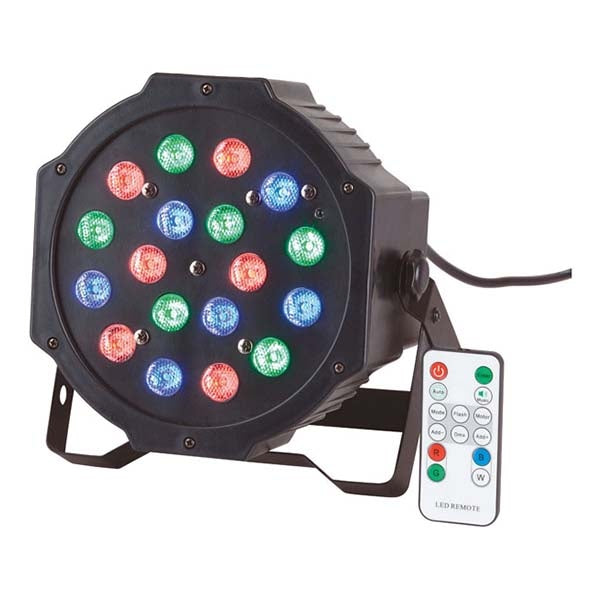RAVE Stage Party light with 18 x 1W RGB LED's