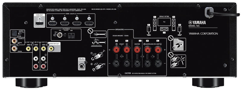 Yamaha RX-V385 5.1-Channel AV Receiver