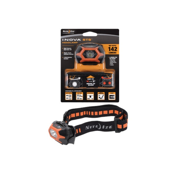 INOVA STS LED Headlamp - Orange