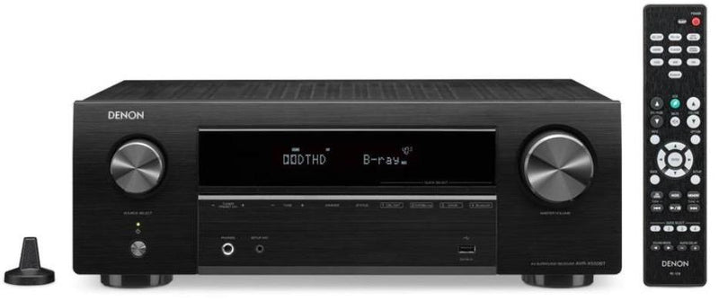 Denon AVR-X550BT 5.2 Channel AV Receiver with Bluetooth