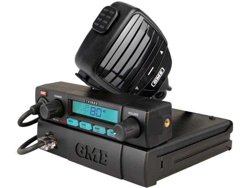 GME TX3520S DSP Compact UHF CB radio, Scansuite