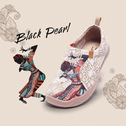 BLACK PEARL Exotic Style Women Canvas Shoes