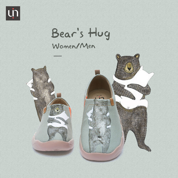 BEAR'S HUG Cute Women Canvas Loafer Shoes