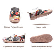 HANA Art Painted Women Slip-on Loafers