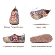 BLOSSOM -Women's Canvas Art Painted Travel Shoe