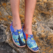 -Viva la Vida- Women's Canvas Casual Painted Travel Shoes