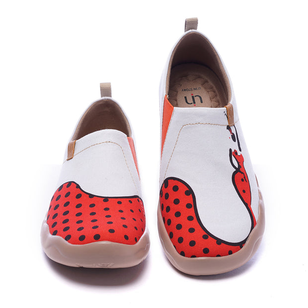 -Duende-Women Canvas Casual Painted Travel Shoes