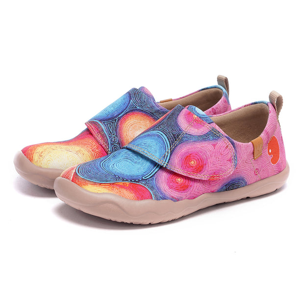 DAYDREAM - Kids Art Painted Canvas Shoes