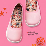 Valencia Knitted Pink (Kid)