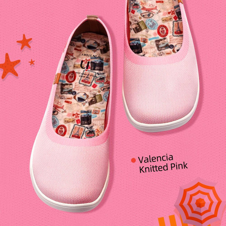 Valencia Knitted Pink