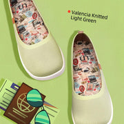 Valencia Knitted Light Green